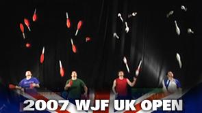 2007 WJF UK OPEN