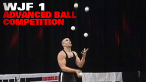 WJF 1 Advanced Ball Competition