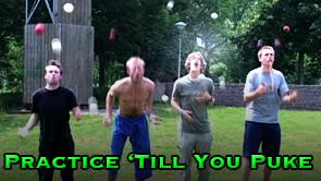 Practice 'Till You Puke